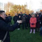 Byvandring på Roskilde Ring i stiv kuling