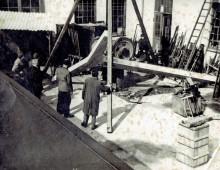 Rosma udvides i begyndelse af 1950'ern