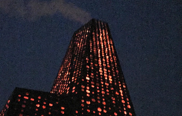 Byens lys besk